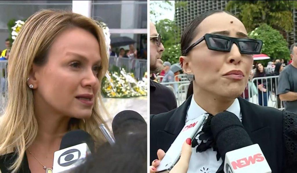 Sabrina Sato, Eliana, Gugu, Jornal Nacional
