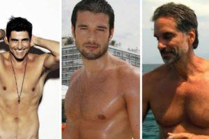 Reynaldo Gianecchini, Victor Fasano e Sergio Marone
