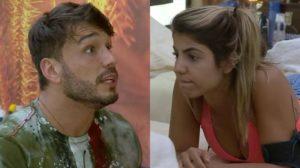 Lucas Viana e Hariany Almeida não estão mais namorando no reality rural da Record TV A Fazenda (Reprodução)