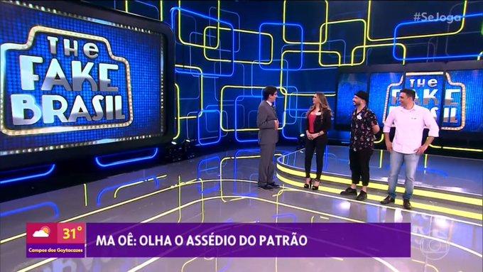 Cena do quadro do Marcelo Adnet no Se Joga da Globo (Foto: Reprodução)