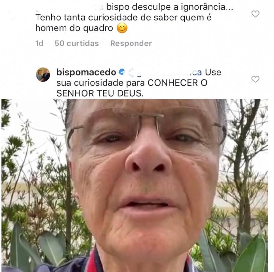 Edir Macedo, dono da Record (Foto: Reprodução/Instagram)