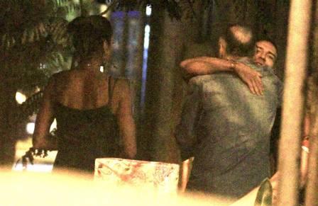 Eike Batista, a esposa e um amigo (Foto: Extra)