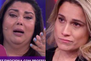 Briga nos bastidores do Se Joga faz Fernanda Gentil se alterar e Fabiana Karla ir aos prantos (Imagem: Montagem TV Foco)