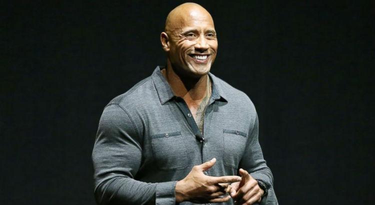 Dwayne Douglas Johnson, conhecido como The Rock (Foto: Reprodução)