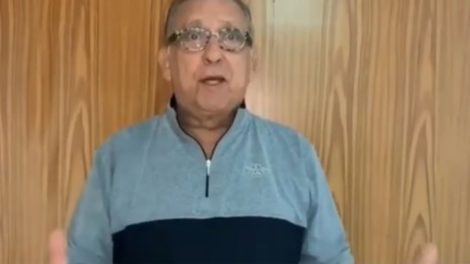 Galvão Bueno surge após cirurgia e fala sobe sua alta (imagem: divulgação)