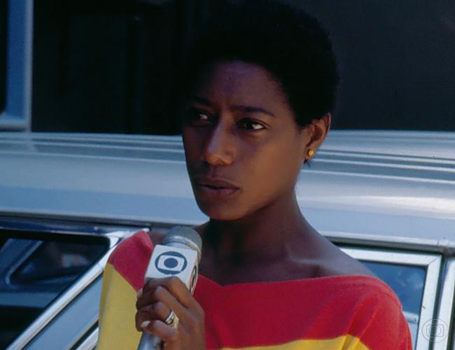 Glória Maria tem um grande papel na história do telejornal brasileiro (Foto: Divulgação/TV Globo)