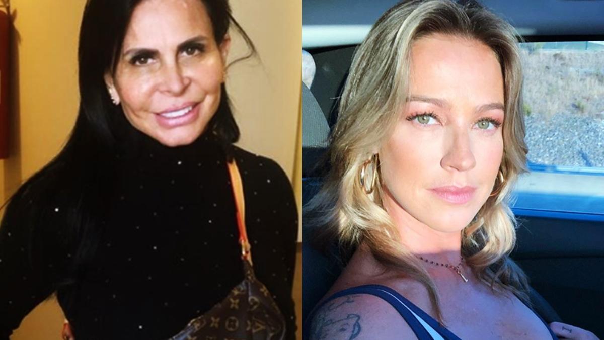 Gretchen e Luana Piovani. Foto: Reprodução