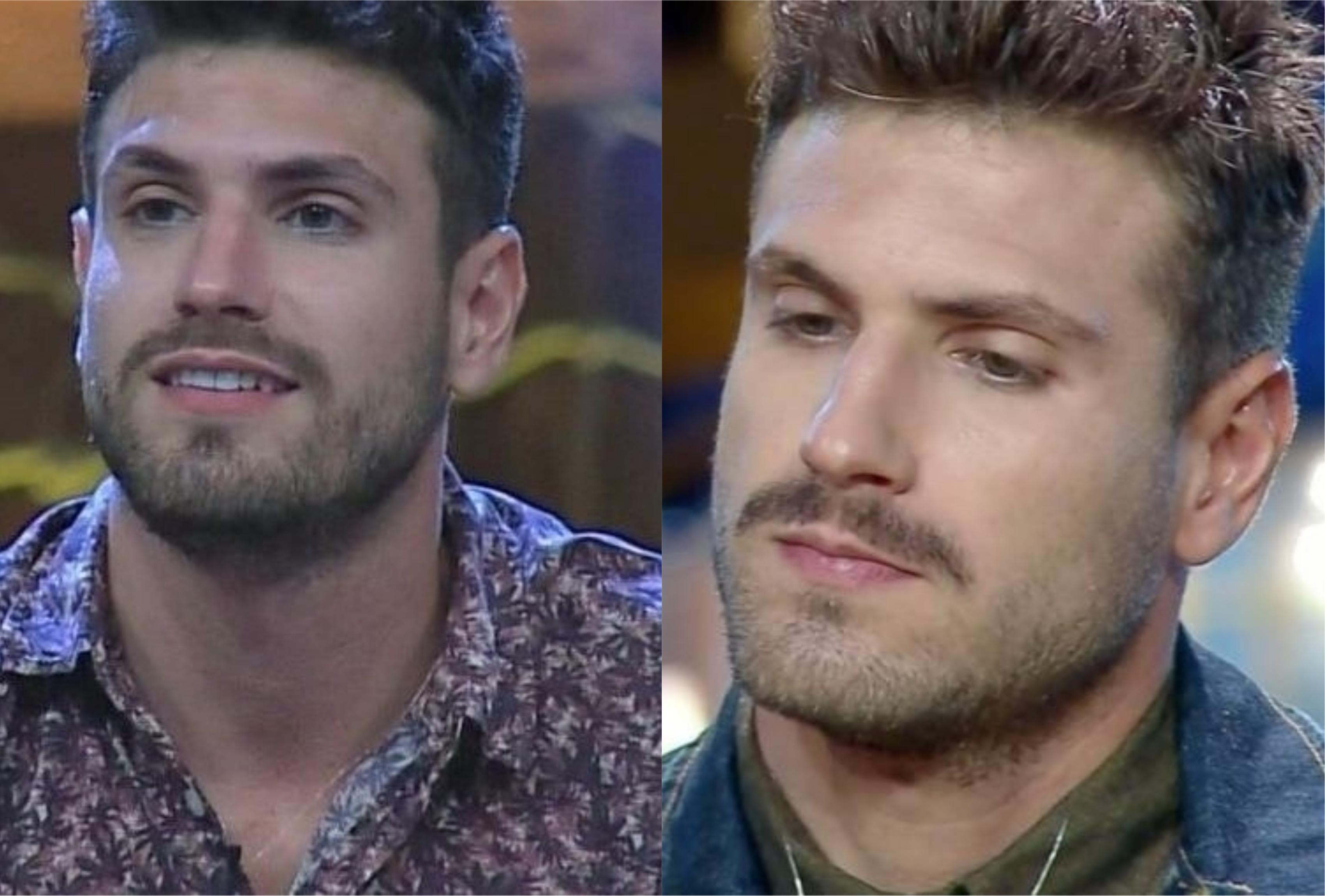 Guilherme Leão foi eliminado de A Fazenda 11 em Roça com Lucas Viana (Montagem: TV Foco)