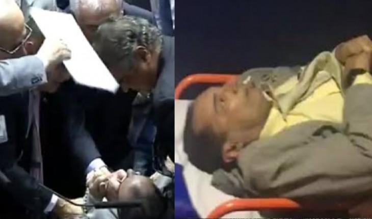 Senador Jorge Kajuru passou mal ao vivo em sessão na TV Senado