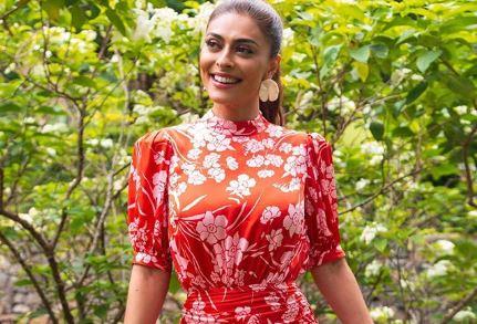 A protagonista de A Dona do Pedaço da Globo, Juliana Paes (Foto: Reprodução/Instagram)