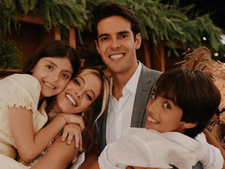 O ex-jogador Kaká com sua noiva Carol Dias 9 (imagem: Instagram)