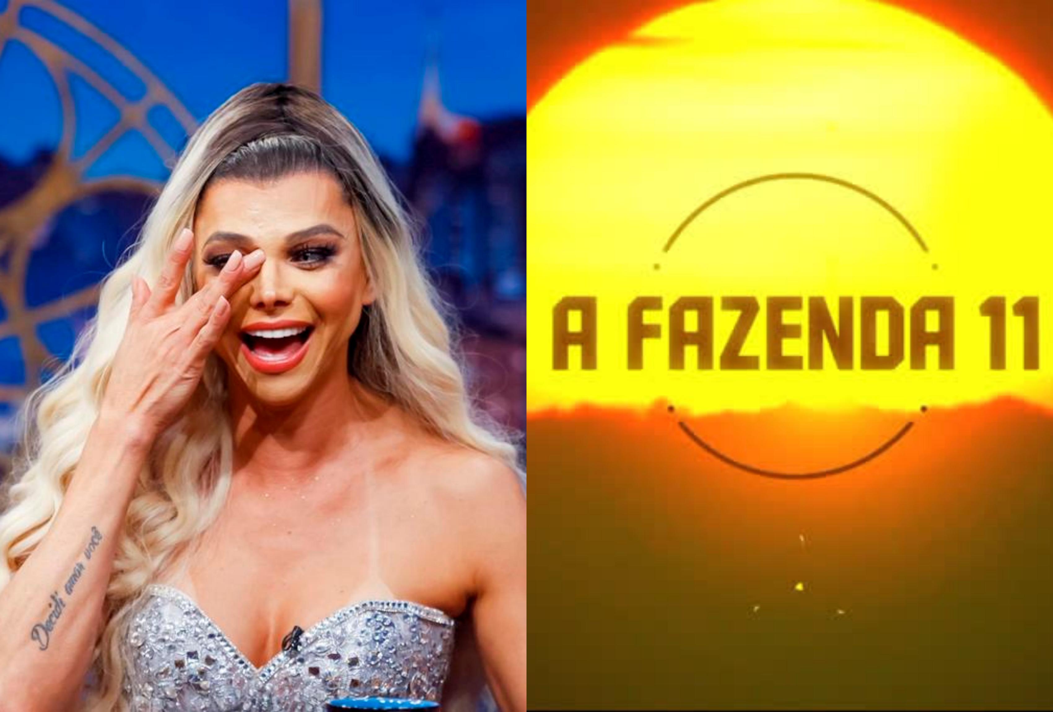 O apresentador do A Tarde É Sua da RedeTV!, Léo Áquilla expõe passado pobre de reality show da Record, A Fazenda (Foto: Montagem TV Foco)