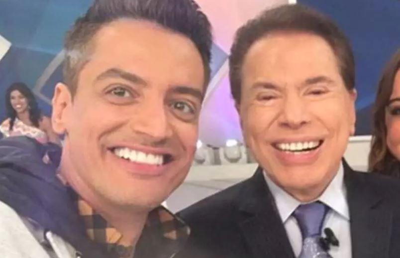 Leo Dias e Silvio Santos (Foto: Reprodução/Instagram)