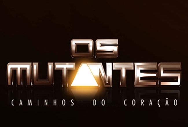 Logo da Novela Os Mutantes (Divulgação/Record)