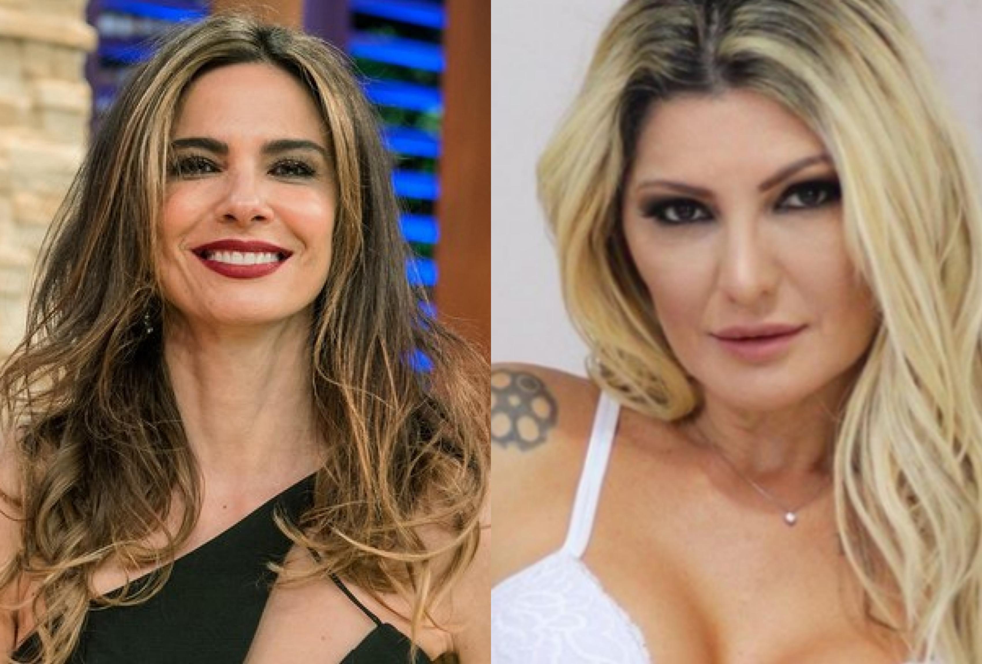 A apresentadora do SuperPop da RedeTV!, Luciana Gimenez se revolta após rumores envolvendo seu ex-marido, Marcelo de Carvalho e Antonia Fontenelle (Foto: Montagem TV Foco)