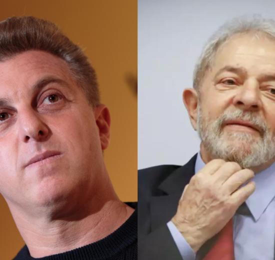 O famoso apresentador do Caldeirão do Huck, ad Globo, Luciano Huck teria entrado em contato com o ex-presidente do Brasil, Lula (Foto: Montagem TV Foco)