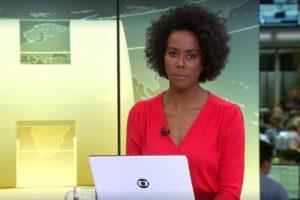 Globo interrompe Encontro com Fátima Bernardes, chama Maju Coutinho para falar sobre Gugu Liberato (Foto: Reprodução/Globoplay)