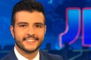 Matheus Ribeiro, o âncora gay (Foto: Divulgação/TV Globo)