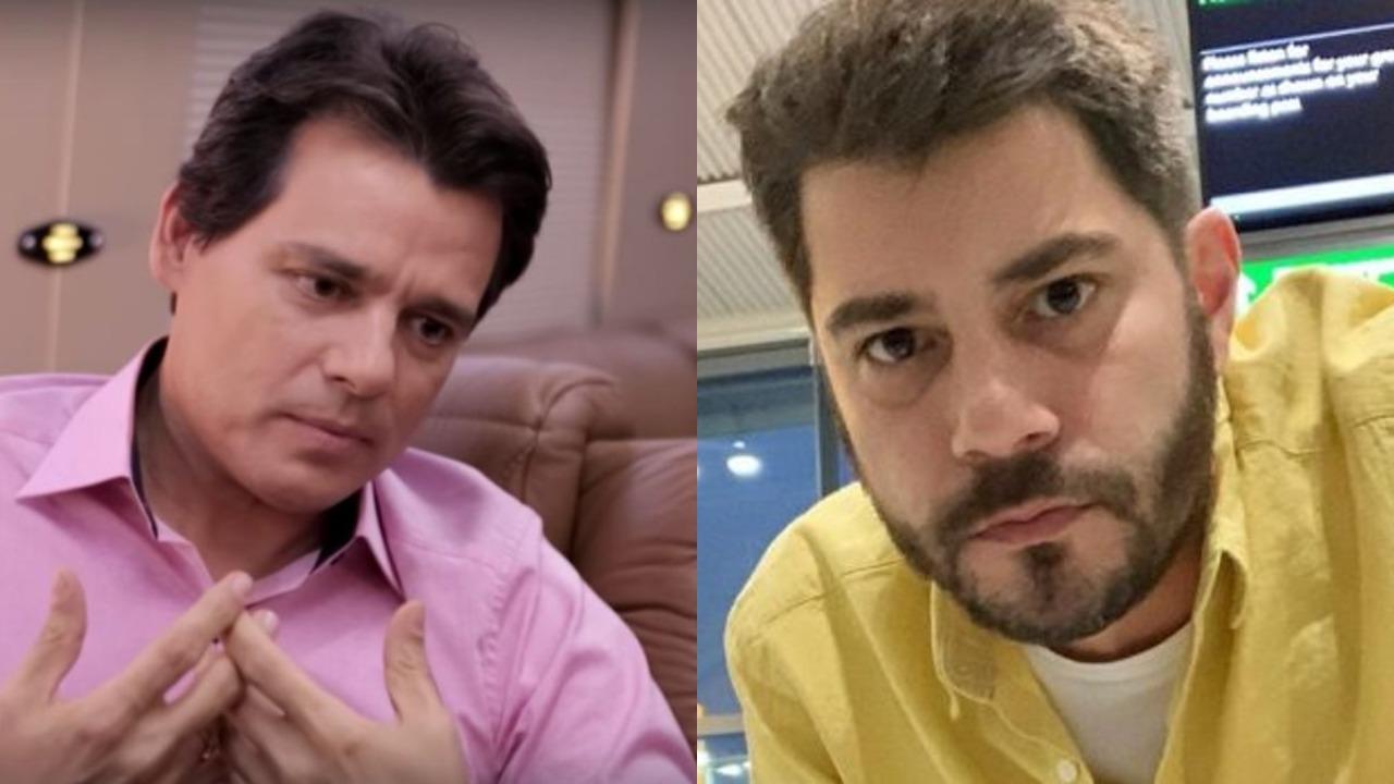 Celso Portiolli e Evaristo Costa (Foto: Reprodução/Instagram/Montagem TV Foco)