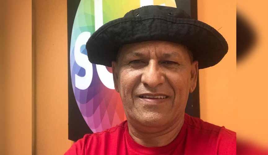 Morre, aos 57 anos, o humorista Rapadura, do SBT. Foto: Reprodução