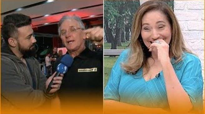 Otávio Mesquita entregou segredo envolvendo Sonia Abrão na TV (Foto: Reprodução/RedeTV)