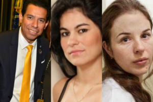 O marido da deputada federal, Flordelis, Pastor Anderson, Eliza Samúdio e Suzane Von Richthofen (Foto: Montagem TV Foco)