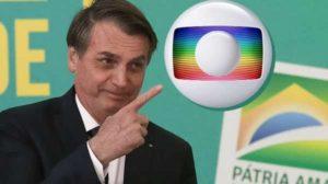 Bolsonaro está em pé de guerra com a Globo (Foto: Reprodução)