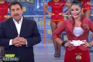 sbt Ratinho e Milene Pavorô (Foto: Reprodução)
