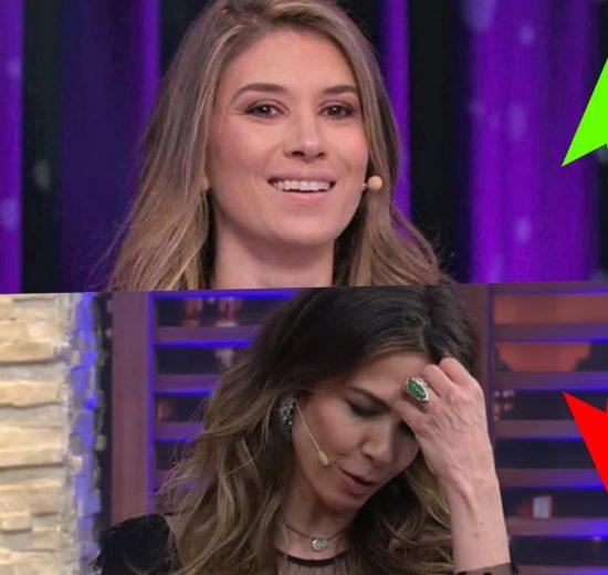 Rebeca Abravanel e Luciana Gimenez saindo da RedeTV são os destaques do Subiu, desceu de hoje (Foto montagem: TV Foco)