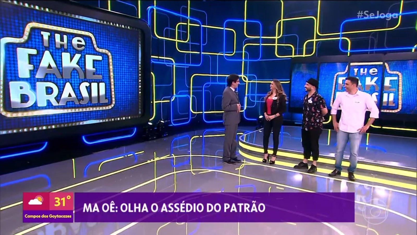 Silvio Santos foi acusado de assédio no Se Joga (Foto: Reprodução/Twitter)