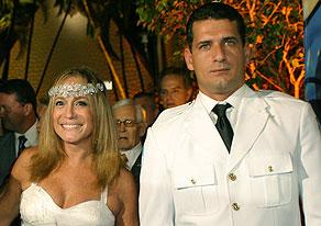 Susana Vieira e Marcelo Silva (Foto: Gabriela Andrade)