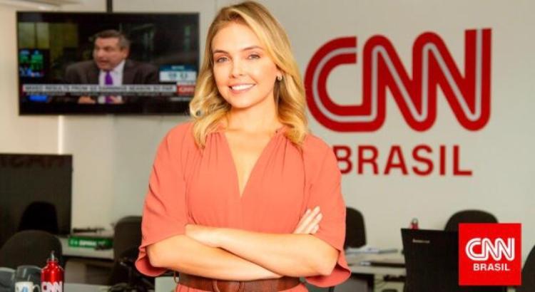 Tais Lopes é a nova contratada da CNN Brasil (Foto: Reprodução)