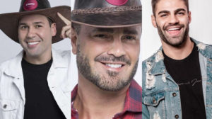 Viny Vieira, Rodrigo Phavanello e Netto estão na Roça de A Fazenda 11 da Record (Montagem: TV Foco)