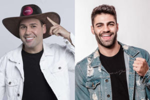 Viny Vieira e Netto se enfrentam na Roça de A Fazenda 11 da Record (Montagem: TV Foco)