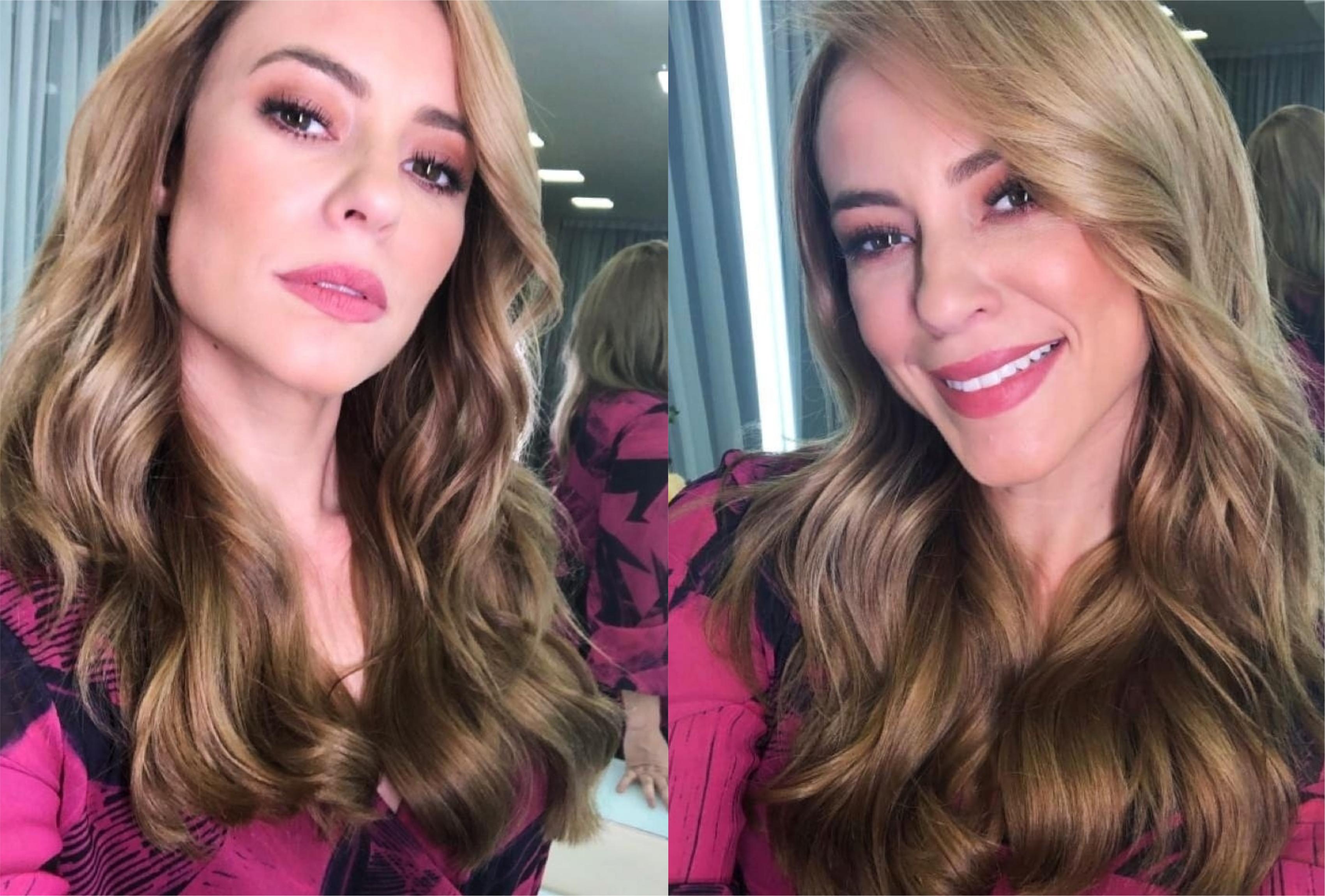 Vivi Guedes (Paolla Oliveira) choca com novo visual para A Dona do Pedaço da Globo (Montagem: TV Foco)