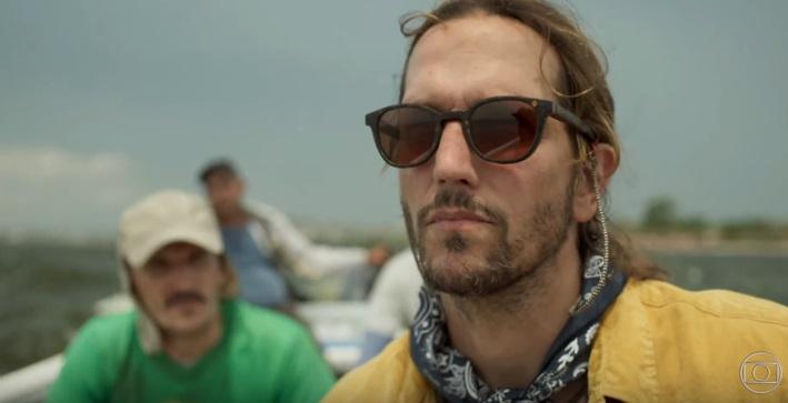 Vladimir Brichta volta como o ativista Davi em Amor de Mãe (Foto: Reprodução/TV Globo)