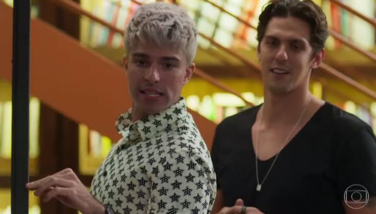 Willian e Pablo, casal gay da novela Bom Sucesso da Globo (Foto: Divulgação)