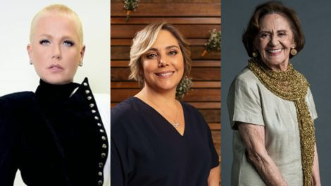 Xuxa, Heloísa Périssé e Laura Cardoso (Foto: Reprodução/Record/Globo/Montagem TV Foco)