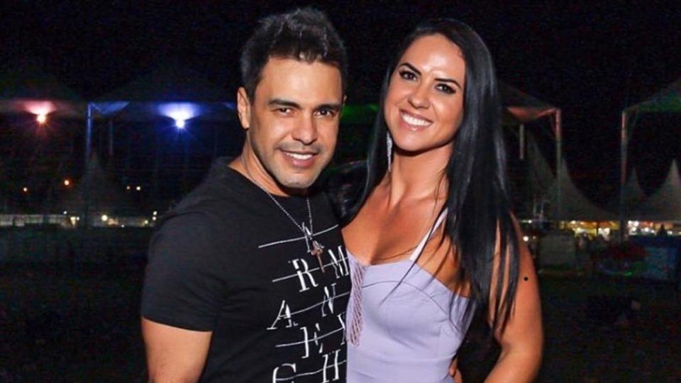 Graciele Lacerda e Zezé Di Camargo (Imagem: Instagram)
