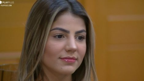 Hariany Almeida foi expulsa do BBB da Globo e na sequência entrou em A Fazenda 11 da Record (Foto: Reprodução/PlayPlus)