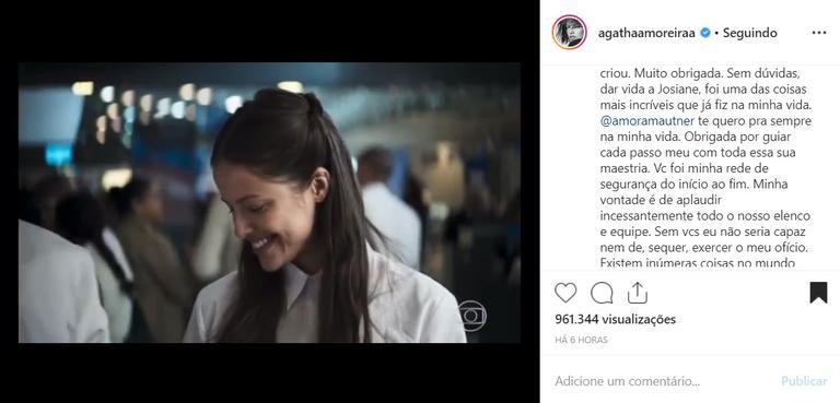 Josiane (Agatha Moreira) em A Dona do Pedaço (Foto: Divulgação/TV Globo)