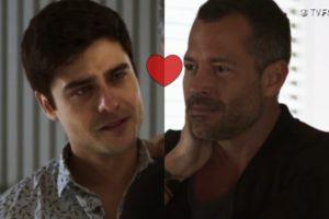 Agno e Leandro se casaram no último capítulo de A Dona do Pedaço