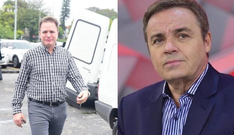 Ex-Polegar e Gugu (Foto da esquerda: AgNews/ Leo Franco)
