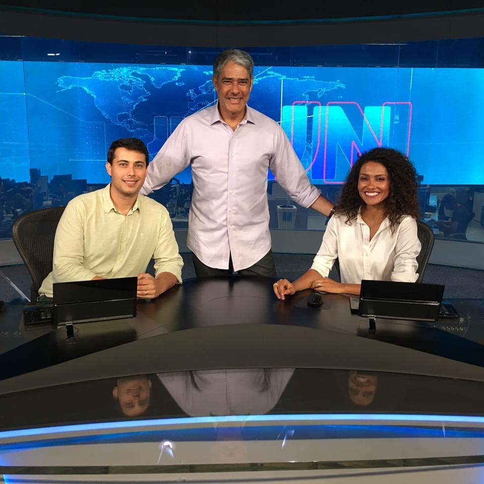 Jornal Nacional, William Bonner, Bom Dia Brasil, Globo