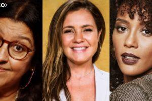 Adriana Esteves, Taís Araujo e Regina Casé são as protagonista de Amor de Mãe. Descubra o elenco da nova trama