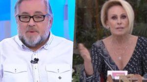 Ana Maria Braga e Leão Lobo tiveram brigas no passado e apresentador acabou expondo a apresentadora da Globo