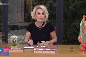 A apresentadora Ana Maria Braga divulgou uma foto com uma mensagem polêmica (Foto: Reprodução)