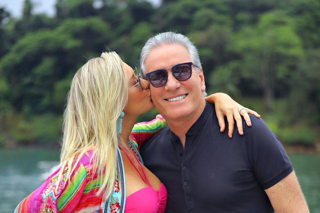 Roberto Justus, Ana Paula Siebert