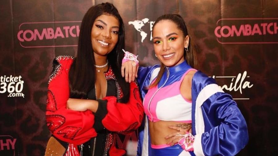 Anitta e Ludmilla foram barradas no Show da Virada pela Globo (Foto: Reprodução)