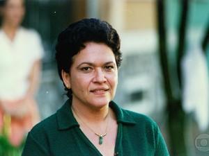 Regina Dourado, falecida em 2012, entrou em contrato com Érica Dias Sensitiva para mandar um recado à Glória Maria. Foto: Reprodução
